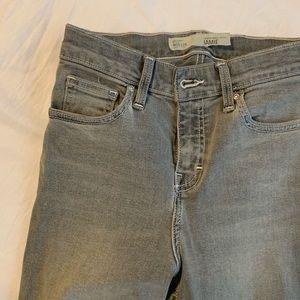 Top shop Petite Jaime Gray Jeans 25